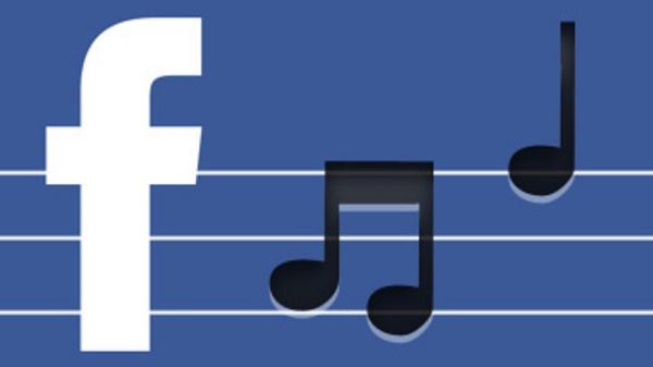 музыка на фейсбук