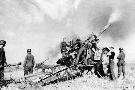 начало Сталиградской битвы